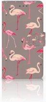 Huawei Honor 5X Uniek Telefoonhoesje, met Flamingo's Design