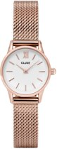 CLUSE CL50006 La Vedette - Horloge - Mesh Rose Gold White 24mm