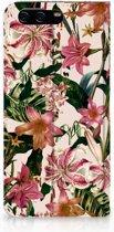 Huawei P10 Uniek Standcase Hoesje Flowers