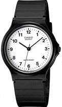 Casio MQ24-7BLCK - Horloge -Kunststof - Zwart - 38 mm