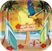 16 stuks: Set a 6 Bordjes - Beach - 23cm