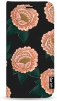 Casetastic Wallet Case Black Samsung Galaxy J4 Plus (2018) - Winterly Flowers