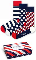 Happy Socks Classic Stripe Giftbox - Maat 41-46