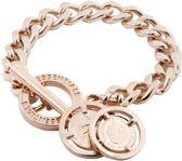 TOV Essentials Small Flat Chain Bracelet - armband - Rosékleurig - 21 cm