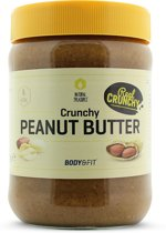 Body & Fit Superfoods Natural Peanut Butter Crunchy Pindakaas - 500 gram