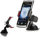 GadgetBay Universele telefoonhouder klem zuignap - Auto Voorruit