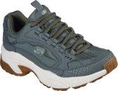 Skechers Stamina Classy Trail Dames Sneakers - Groen - Maat 41