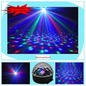 discolamp led muziek gestuurde kleuren Ball