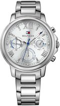Tommy Hilfiger TH1781741 horloge dames - zilver - edelstaal