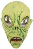 Latex Alien masker verkleed accessoire