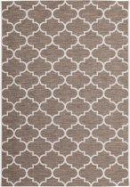 CleanWalk binnen/buiten karpet Tiles beige 120 x 170 cm