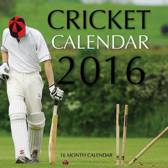 Cricket Pocket Monthly Planner 2016