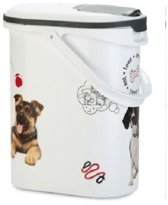 Curver - Voedselcontainer Hond - Wit - 10 L- 4kg