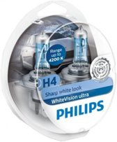 Philips WhiteVision Ultra H4 12342WVUSM - set