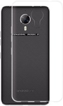 Knaldeals.com - General Mobile GM5 Plus hoesje - Soft TPU case - transparant