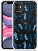 Apple iPhone 11 Hoesje Feathers