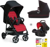Hauck Rapid 4 Plus Trio Set - Kinderwagenset - Grijs/Tango