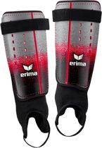 Erima Flex Guard Classic scheenbeschermers ScheenbeschermerVolwassenen - rood/grijs/zwart