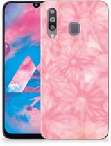 Samsung Galaxy M30 TPU Case Spring Flowers