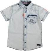 Retour sweat denim overhemd - Maat 116