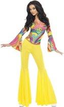 Jaren 60/ 70 / Hippie kostuum voor dames - flower power kleding 36-38 (S)