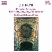 Bach: Preludes & Fugues / Wolfgang Rubsam
