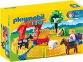 PLAYMOBIL 1.2.3 Kinderboerderij - 6963