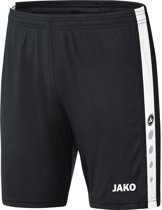 Jako - Shorts Striker - zwart/wit - Maat XL