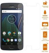 Geschikt voor Motorola Moto G5 Plus Screen Protector van echt Glas