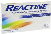 Reactine ant-histaminic.10mg 21 st