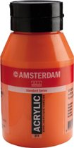 Amsterdam Acrylverf 311 Vermiljoen 1L