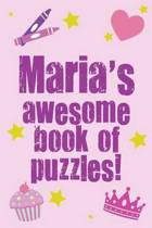 Maria's Awesome Book of Puzzles!