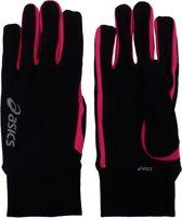 Asics Basic Hardloophandschoenen - Unisex - zwart/roze