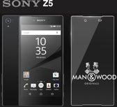 Man & Wood Screenprotector / Schermbescherming ECHT GEHARD GLAS (Tempered Glass) - Sony Xperia Z5