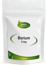 Borium - 3 mg borium per capsule - 100 capsules