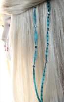 Funny Color Haarextensions - turquoise
