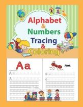 Alphabet & Numbers Tracing & Coloring