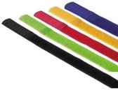 Hama 00020535 kabelbinder Nylon Zwart, Blauw, Groen, Rood, Geel 5 stuk(s)