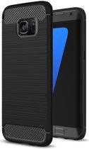 Samsung Galaxy S7 Edge Geborsteld TPU Hoesje