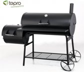 Tepro Natchez Afsluitbare Houtskool Barbecue / Smoker