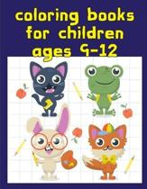 coloring books for children ages 9-12: Coloring Pages for Children ages 2-5 from funny and variety amazing image.