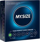 My.Size 47 - 3 stuks - Condooms