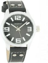 OOZOO - Junior - JR154 - Horloge -  Zwart/Zwart - 39 mm