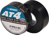 Advance AT4 PVC tape 19mm x 20m. zwart
