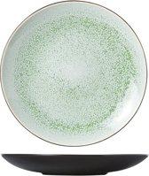 Cosy&Trendy Finesse Green Dessertbord - Ø 21.5 cm - Set-6