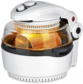 Gourmetmaxx 00974200125 Enkel Losstaand Hot air fryer 11l 1400W Zwart, Wit friteuse
