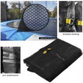 Los Veiligheidsnet voor Trampoline 360-370 cm | 4 poten (zonder palen)