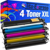 PlatinumSerie® 4 toners XL alternatief voor Brother TN-230 black cyaan magenta yellow