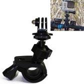 Fiets (Handlebar en Seatpost) mount 360* draaibaar voor uw GoPro / Go Pro / SJCAM / Rollei / Lenco / Denver / Sony / Sportcam