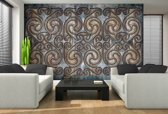 Gray | Brown Photomural, wallcovering